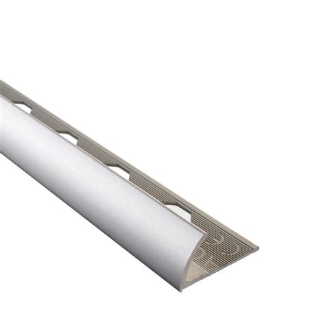 emac novocanto matt silver 5 16 in x 98 1 2 in aluminum