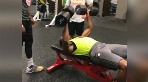 nba bench press dwight howard shows us a few exercises muscle fitness