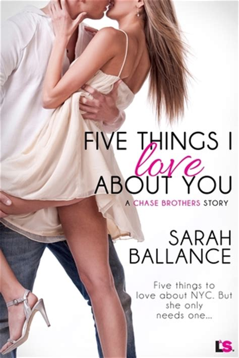 Five Things I About You By Ballance five things i about you brothers 1 by