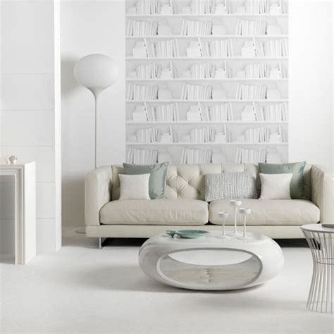 White Modern Living Room by White Living Room Living Room Idea