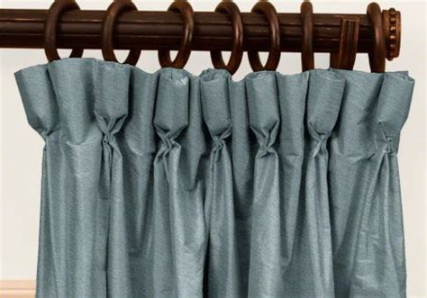 goblet headed curtains goblet pleat curtains blumuh design