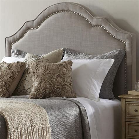 fabric headboard queen dictate royalty with upholstered headboard queen jitco
