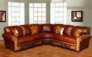 rustic sectional sofa 4015 sectional great western furniture company