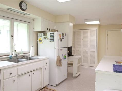 4 decorating ideas how to make a galley kitchen look galley kitchen design ideas decorating hgtv