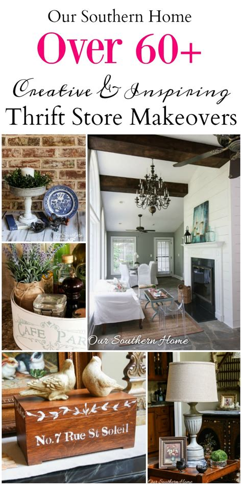 thrift store diy home decor thrifty home decor makeovers our southern home
