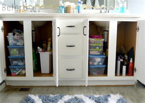 how to organize your bathroom cabinets gets organized