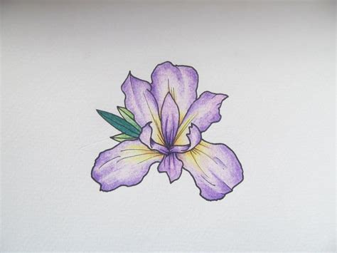 purple flowers tattoos designs iris flower drawing www pixshark images
