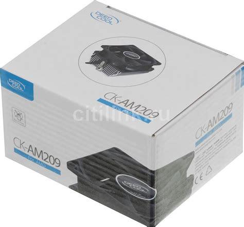 Amd Deepcool Ck Am209 купить устройство охлаждения кулер deepcool ck am209 по