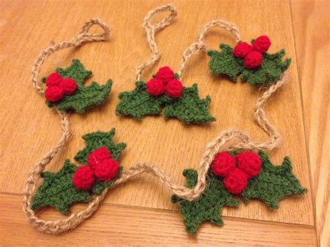 crocheted christmas tree garland ideas 17 best ideas about crochet garland on crochet crochet