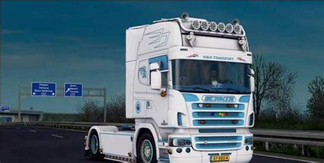 scania wb transport  ets mods euro truck