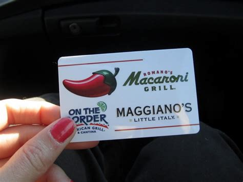Maggianos Gift Cards - maggiano s gift cards also good at papa johns warminster pa