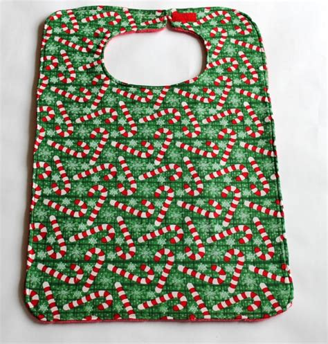 adult bibs pattern free adult bib reversible clothes protector green by