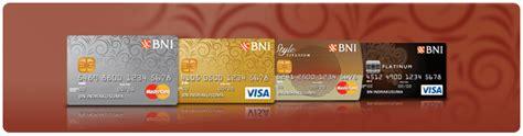 membuat kartu kredit bni pilihan kartu kredit bni silver emas premium dan lainnya