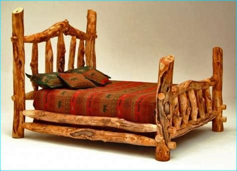 log headboard kits log bed frame kits bed frame mke how to build a log bed