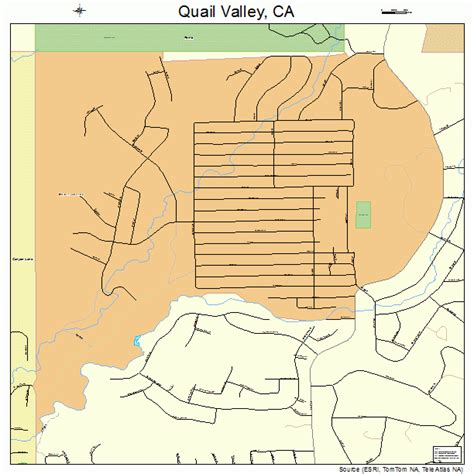 california quail map quail valley california map 0658982