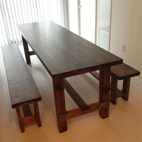 how to make a dining table bench best 25 narrow dining tables ideas on pinterest narrow