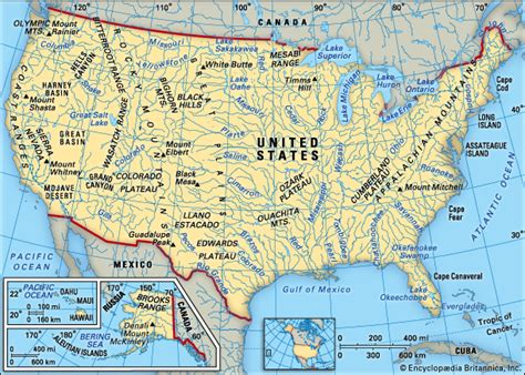 physical features of the united states map britannica