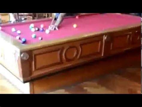 self leveling pool table on cruise ship vid 1 youtube