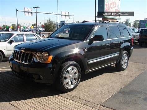 2009 Jeep Grand 2009 Jeep Grand Limited Sport Utility 4 Door 5 7l