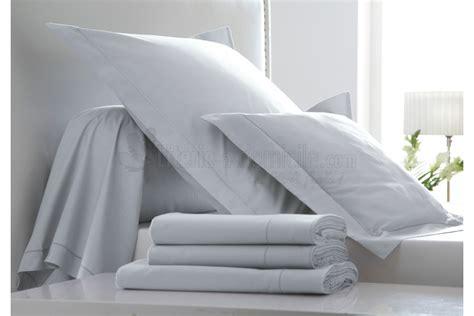 linge de lit des vosges linge de lit uni percale doux blanc des vosges literie a