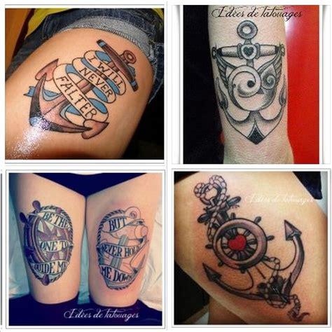 Tatouages Ancre