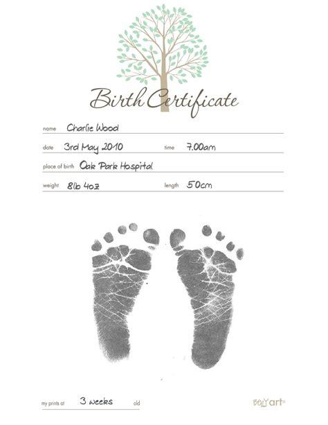 belly art inkless birth certificate birth certificate