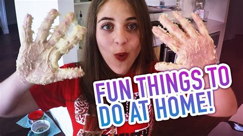 things to do at home baby ariel
