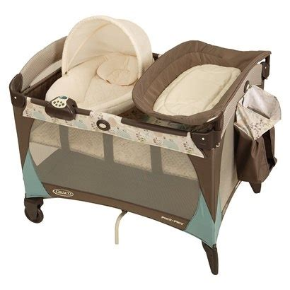 Graco Co Sleeper by Graco Newborn Napper Pack N Play Playard Meadow Menagerie