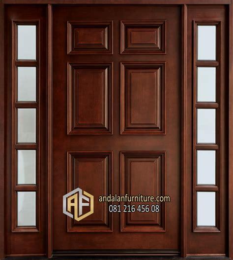 desain pintu kembar minimalis kotak furniture jepara klasik perabot mebel ukir minimalis