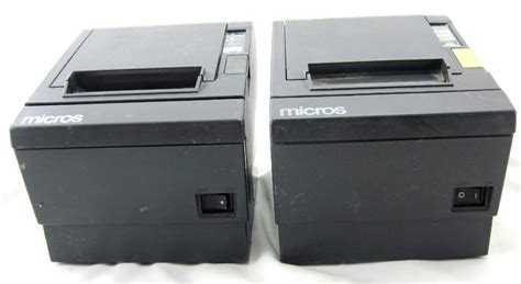 2 Epson M129b And M129c Pos Thermal Point Of Sale Receipt Printers Ebay Thermal Printer Receipt Template