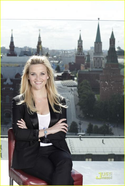 Reese Witherspoon Is An Avon by Reese Witherspoon Avon S 125th Anniversary In Moscow