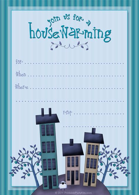 free housewarming invitation template free printable housewarming invitations printable