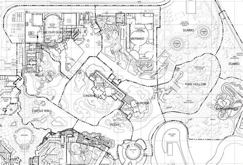 amusement park floor plan dwarfs mine train wdwmagic unofficial walt disney