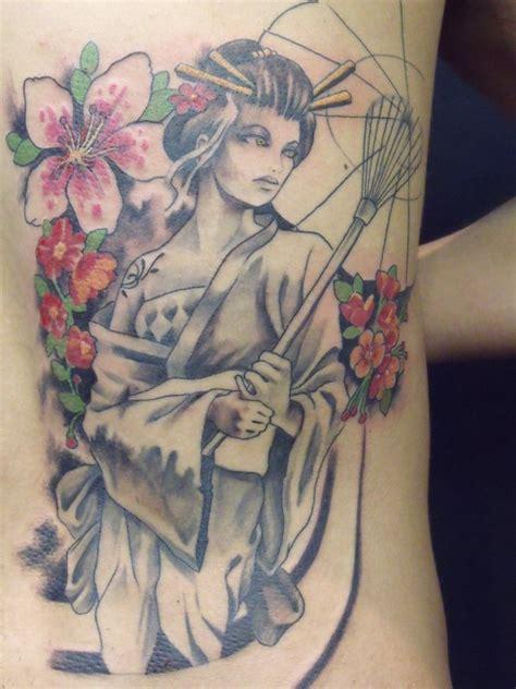 geisha tattoo 14 by mojoncio on deviantart