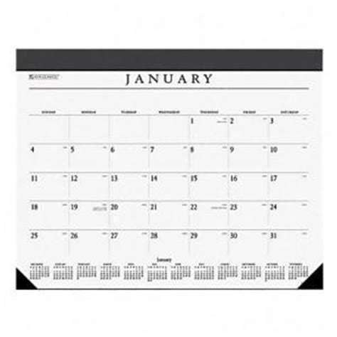 large desk blotter calendar at a glance executive desk blotter monthly calendar refill