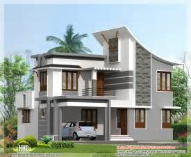 modern contemporary house plans modern 3 bedroom house in 1880 sq kerala home