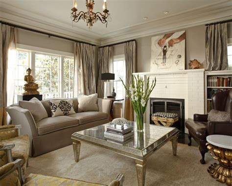 hgtv room designs traditional living room with metallic coffee table
