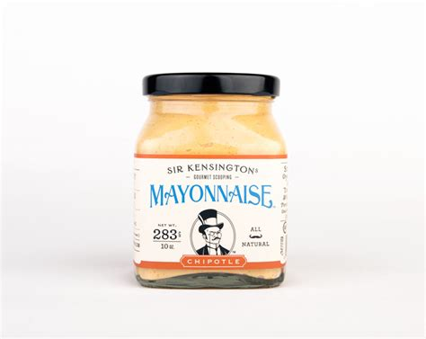 Gourmet Mayonais sir kensington s gourmet scooping mayonnaise the dieline