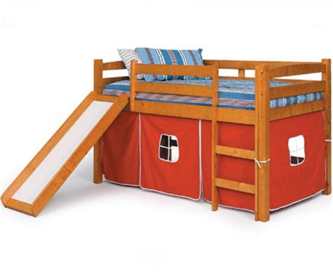 boys twin loft bed with slide share solid wood twin bed plans my ideas
