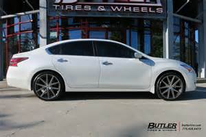Wheels For Nissan Altima Nissan Altima Custom Wheels Tsw 20x Et Tire Size