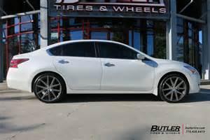 Customized Nissan Altima Nissan Altima Custom Wheels Tsw 20x Et Tire Size