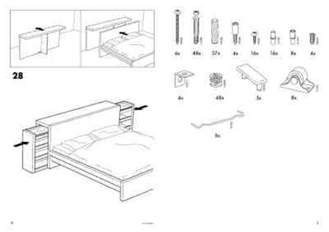 malm bed instructions ikea malm bed furniture download manual for free now