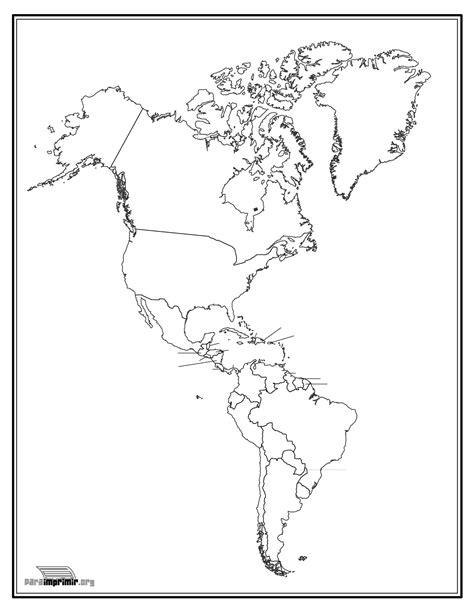 mapa america con division politica mapa de america fisico