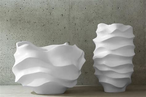 Oversized Planter by Oversized Sculptural Planters By Khouri