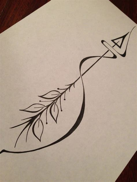 simple arrow tattoo design arrow tattoos and designs page 170