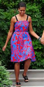 House Designer Online as michelle obama wears her favourite thakoon frock for a