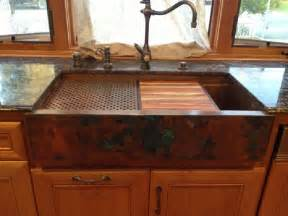 Kitchen Faucet Made In Usa hundreds of photos of copper sinks installed in kitchens