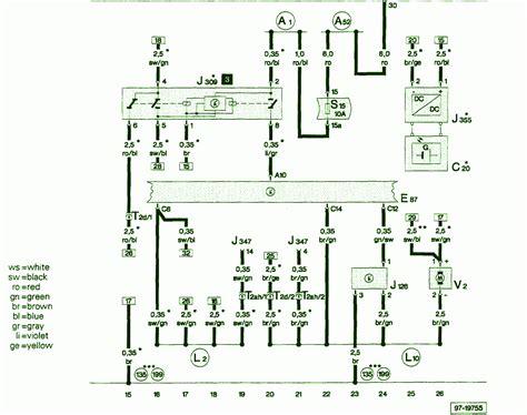 1999 audi a6 quattro 2 8 fuse box diagram circuit wiring