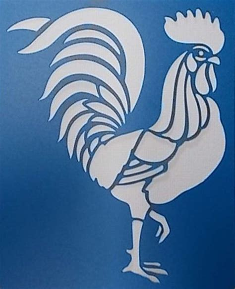 printable rooster stencils roosters stencils and etsy on pinterest