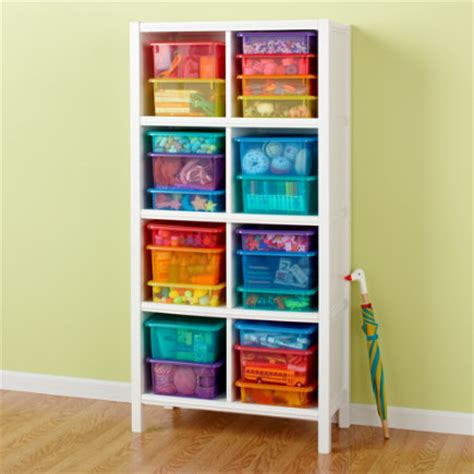 bookcases 8 cube white bookcase from land of